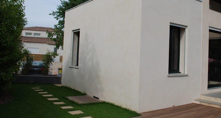 Extension et extérieur